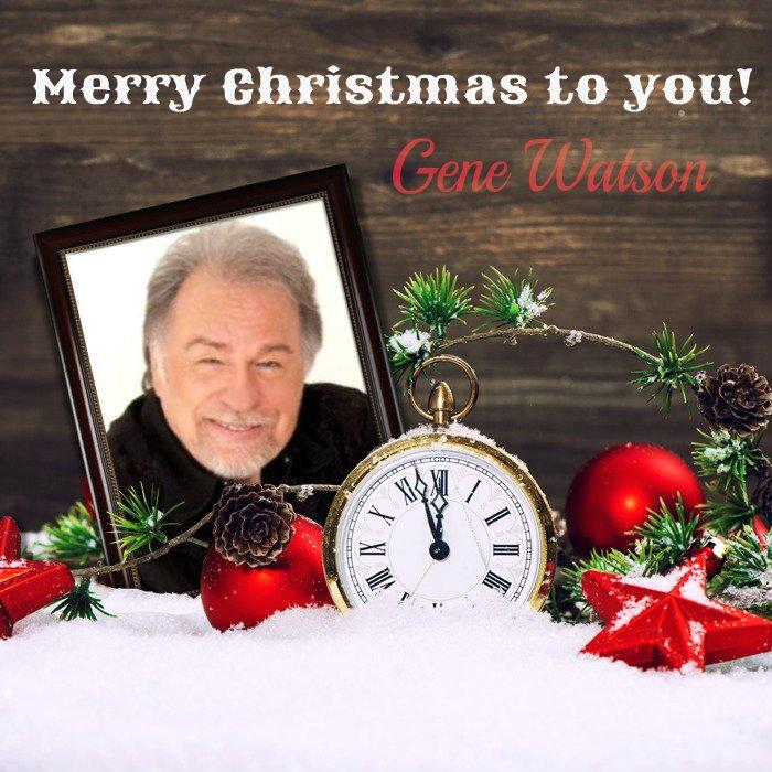New Gene Watson merchandise – order for Christmas!