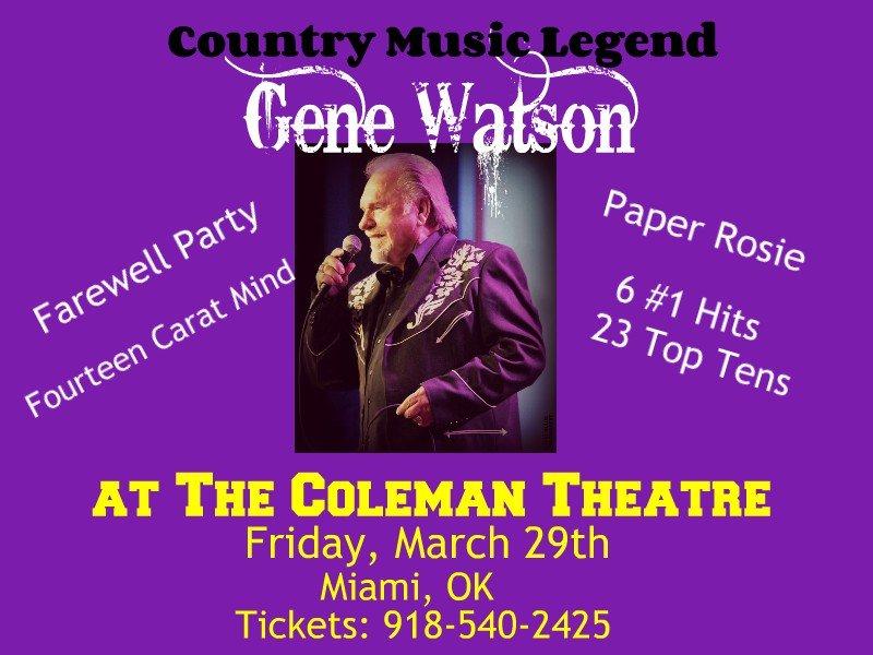Listen to interview with Gene Watson