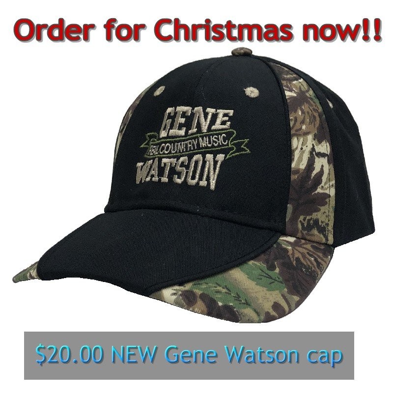Get Your Gene Watson Fan a Special Christmas Gift this year!