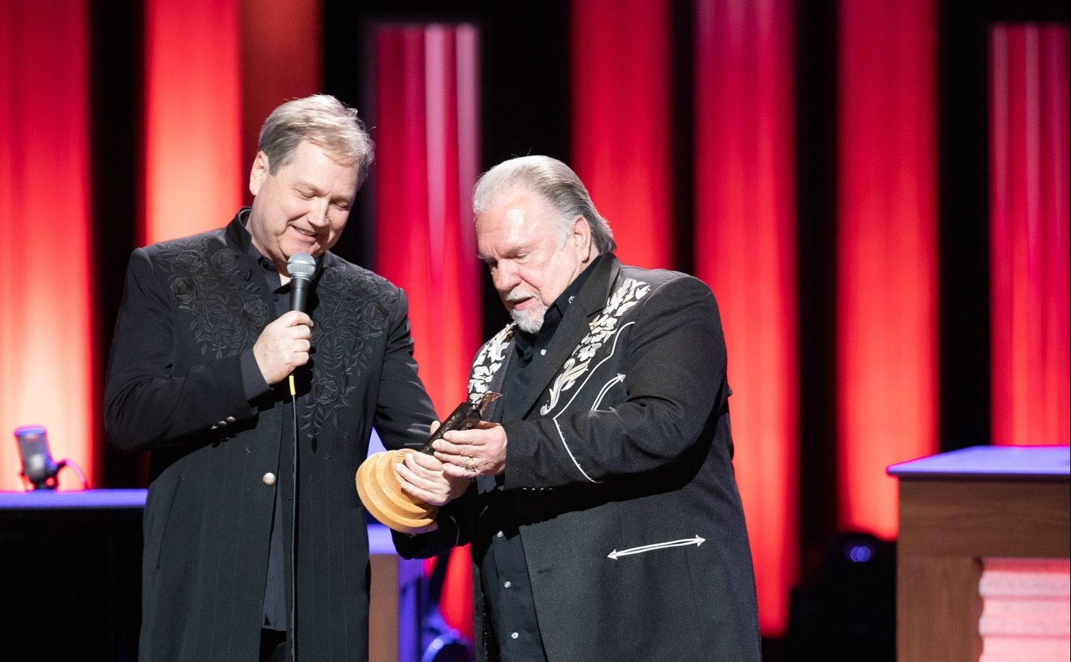 Gene Watson Inducted into OPRY